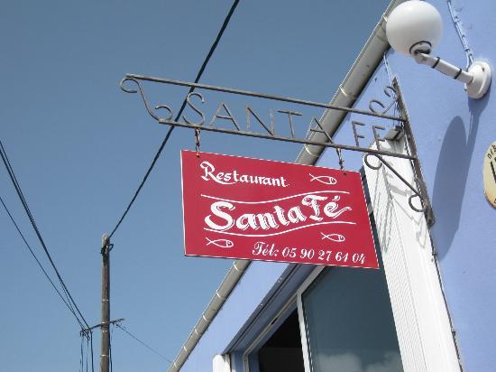 Santa Fe: Outside front door