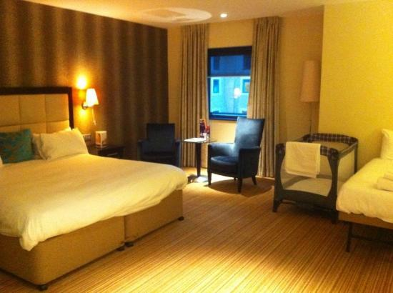 The Nottingham Belfry - A QHotel: Enormous bedroom - photo shows only half