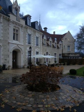 Château de Fere : 'old' main part of building