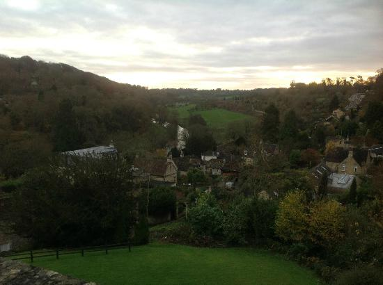 BEST WESTERN Limpley Stoke Hotel: The view from one of the newly renovated rooms