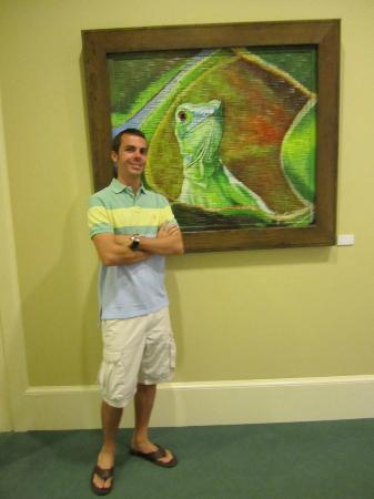 Beachcomber Grand Cayman: ritz art