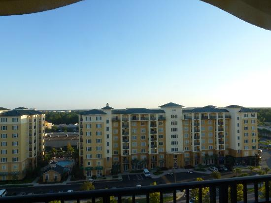 Lake Buena Vista Resort Village & Spa: View of other hotel buildings from 9th floor apartment balcony