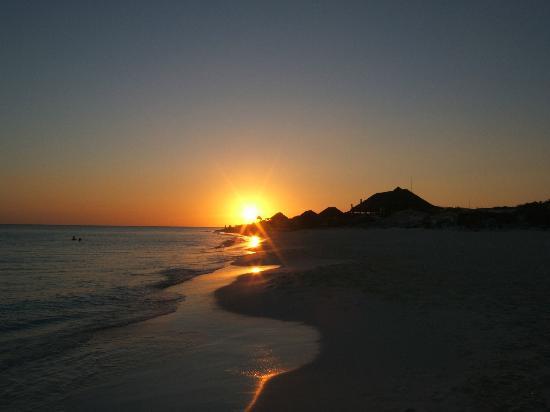 Sol Cayo Largo: Coucher de soleil