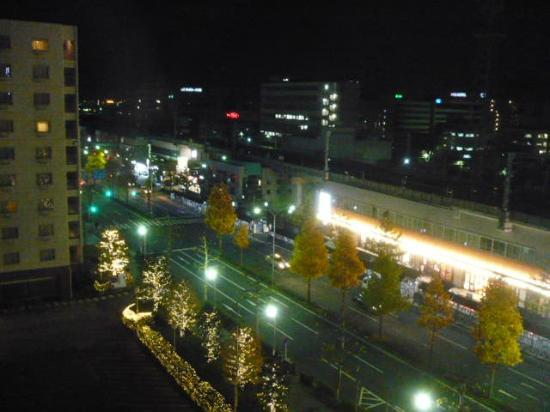 New Miyako Hotel: View facing the Kyoto Station