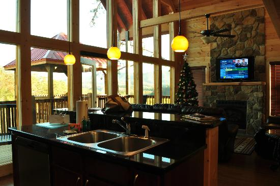 Accommodations by Parkside Resort: Kitchen
