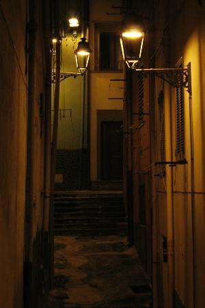 Sa Balza : Window view at night