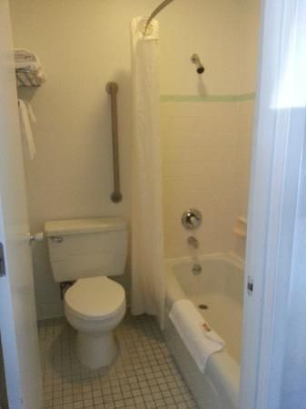 Econo Lodge: Room Bathroom