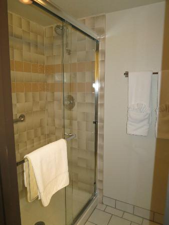BEST WESTERN PLUS Monterey Inn: Big and nice shower (fit for two)