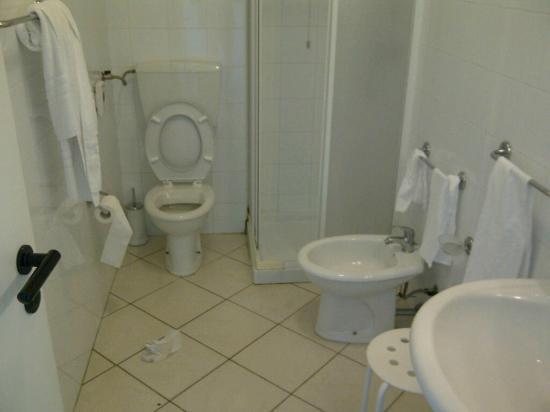 Villa Orchidea: il bagno..poco accogliente