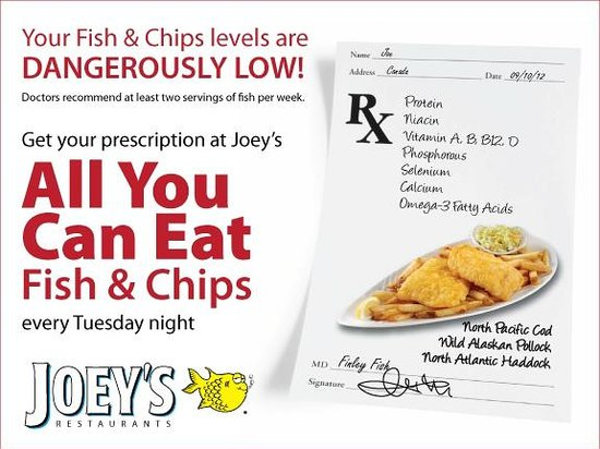 Joey's Restaurants : We've set a place for you at Joey's