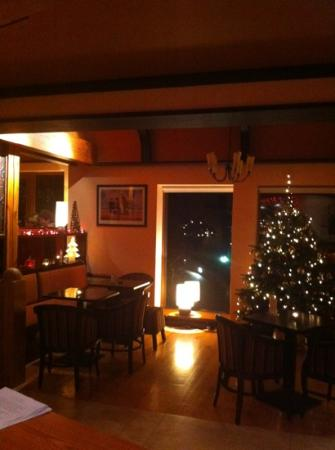 Waterfront House Restaurant: waterfront bar @ Christmas