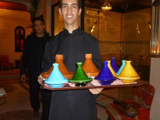 Riad Dar Anika: Het diner, fantastisch lekker!