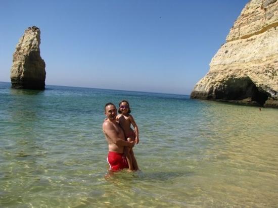Praia marinha : beatiful beach