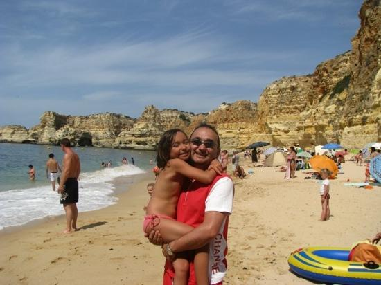 Praia marinha: beautiful beach