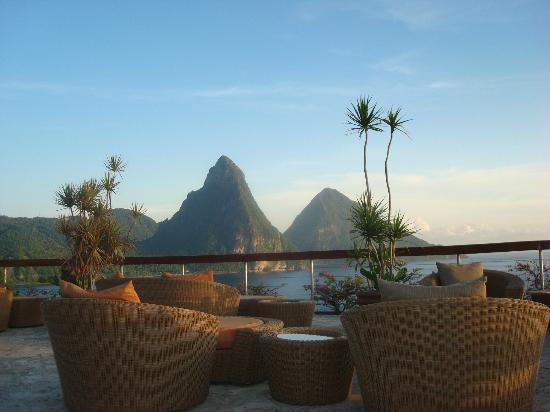 Jade Mountain Resort: rooftop