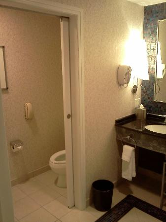 Mohegan Sun: Bathroom/toilet