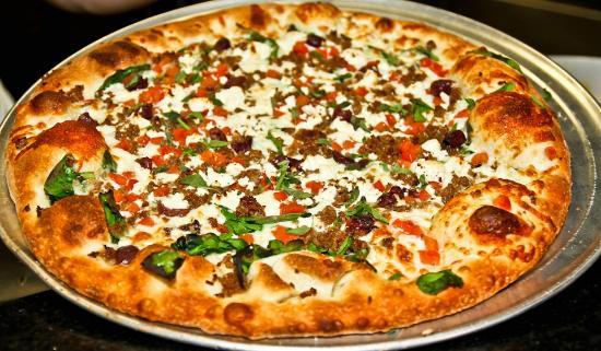 Slyce: Greek Pizza