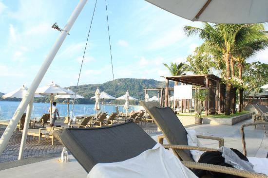 Cape Sienna Hotel & Villas: View from the pool bar