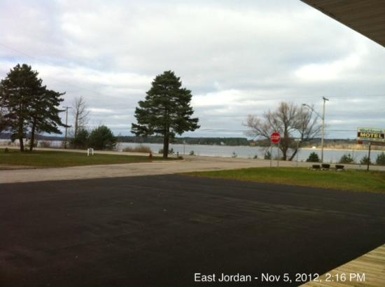 East Jordan Motel: View from each of the rooms