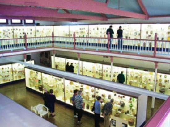 National Museum of Australian Pottery: View inside the Museum