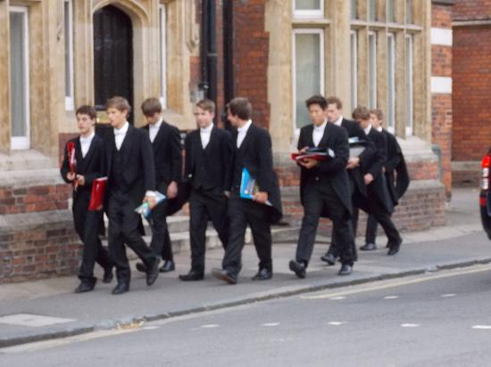 students on their way to class picture of eton college. Black Bedroom Furniture Sets. Home Design Ideas