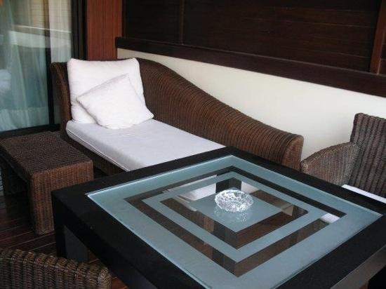 Gran Hotel Guadalpin Banus: room terrace.