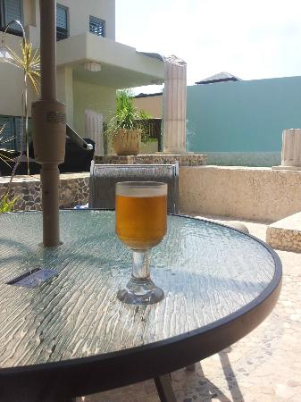 Mantra in the Village: Beers by the Pool