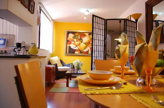 Free Time Apartamentos: Sala
