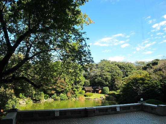 Nationalmuseum Tokyo: Gorgeous back garden, as seen through the door