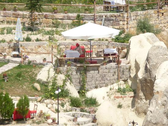Ortahisar, Turkije: sous les parasols