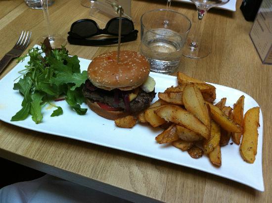 restaurant brasserie le 7 : burger