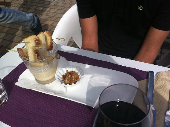 restaurant brasserie le 7 : cheese fondue