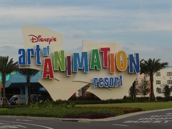 Disney's Art of Animation Resort: entrada