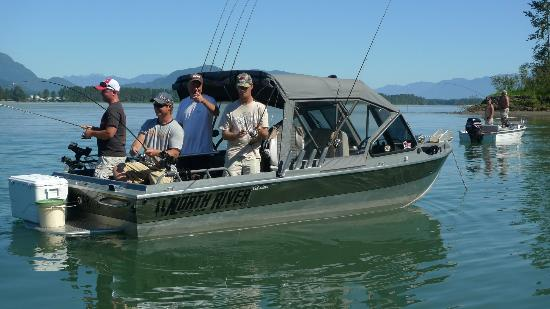 STS Guiding Service Day Trips: Fraser Salmon Fishing