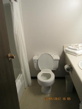 Highliner Plaza Hotel & Conference Centre: Toilet