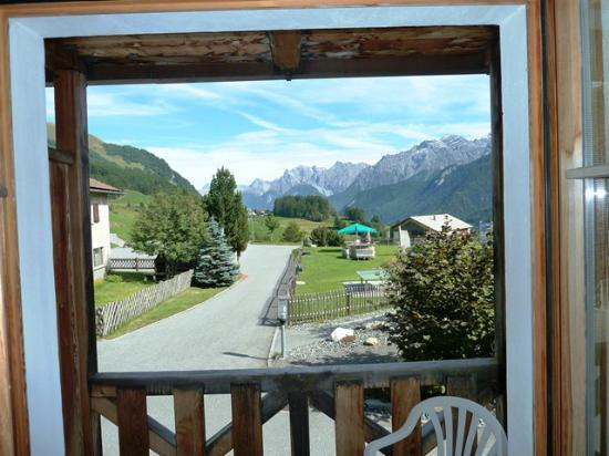 Hotel Piz Buin: Another View from our Window