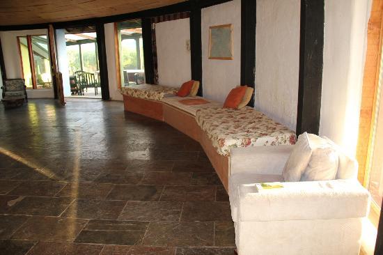 Gyreum Eco Lodge : Main room.