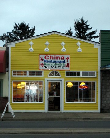 The China Restaurant, Waldport, Oregon Coast