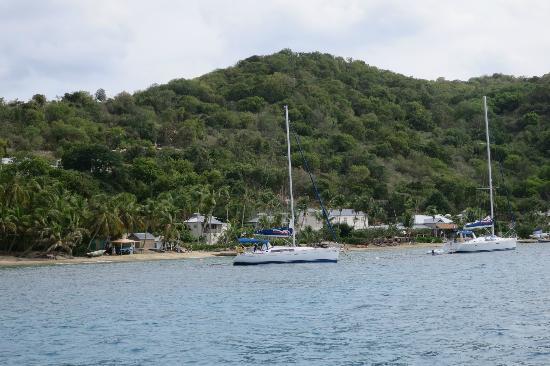 Sail Bravura: Cooper Island