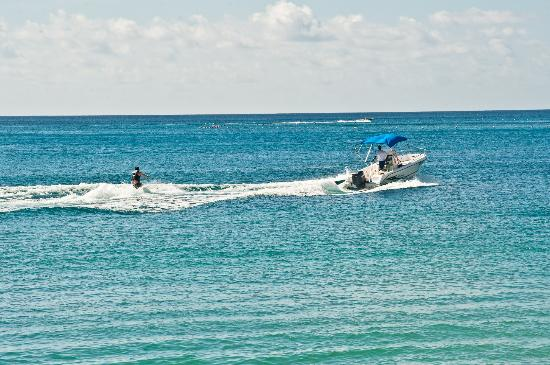 Mango Bay All Inclusive : Waterskiing which is included in your all Inclusive package at Mango Bay