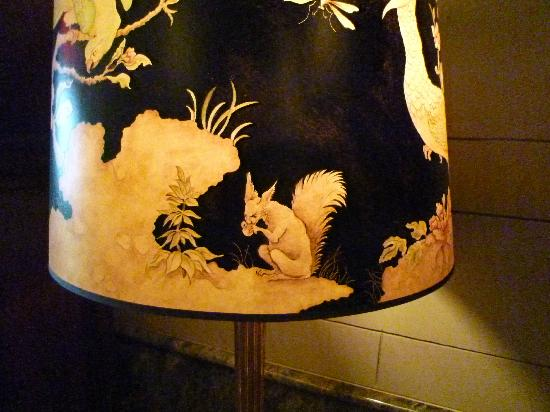 Hotel Icon, Autograph  Collection: very cool lampshade in lobby area with devlish squirrel