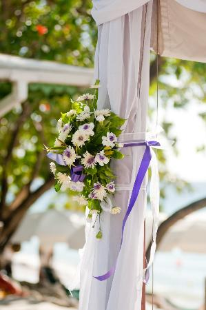 Mango Bay All Inclusive : Wedding area at Mango Bay
