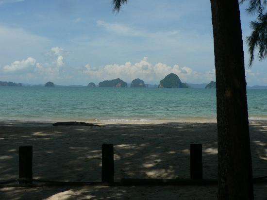 Tup Kaek Sunset Beach Resort: view from hammock