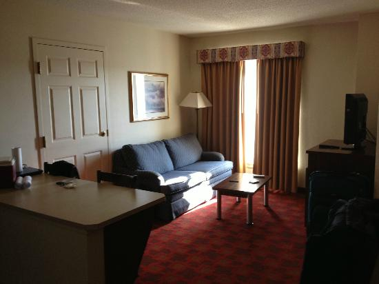 Hawthorn Suites by Wyndham Chelmsford/Lowell: living room area