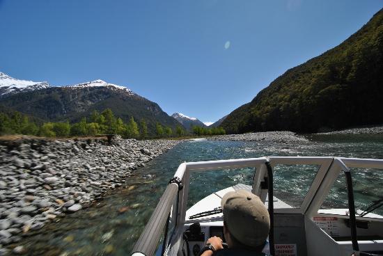 Wanaka River Journeys: Shallow River and Views