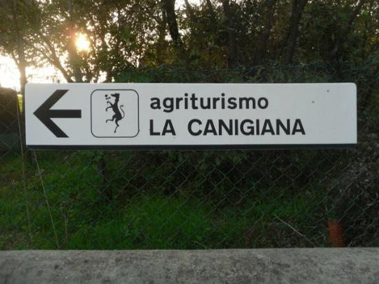 Agriturismo La Canigiana: Enterance