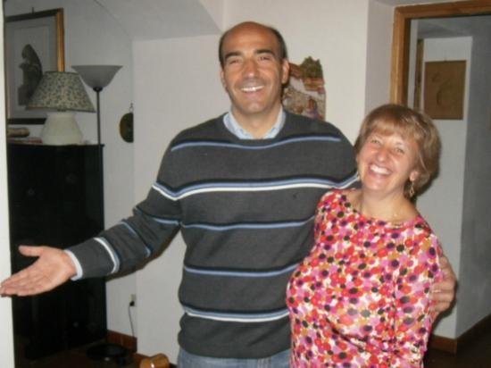 Agriturismo La Canigiana: Alessandra and Franco