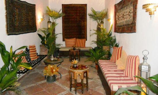 Hammam Al Andalus Granada: Lobby of Hammam al Andalus