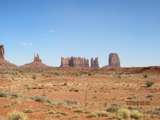 ‪‪Hampton Inn Kayenta‬: Monument Valley