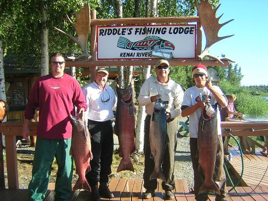 Riddle's Fishing Lodge: Awesome King Fishing